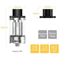 bear technology - 100 Original Aspire Cleito ML Top Filling Cleito W Atomizer Advanced Airflow Technology Wide Bore Drip Tip For CBD oil