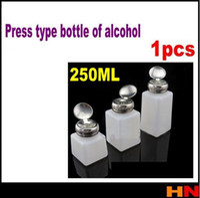 Wholesale PC ml Alcohol pot prevent evaporation ESD ALCOHOL BOTTLE put in clean cellphone glass liquid prevent evaporation