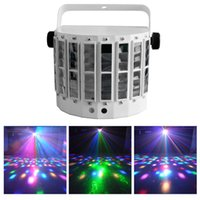 Wholesale Led Glass Lenses Stage Gobo Lights With Red and Green Laser Lighting Colors Auto run Sound Activated Dj Party Disco Light System