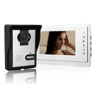 best doorbells - XSL V70F L inch video doorbell best selling color screen and cute infrared camera with rainproof cheap and fine villa type