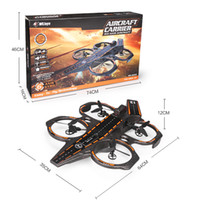 Racing amphibious rc - WLtoys Q202 CH Axis GHz Aircraft Carrier Shape Air Sea Amphibious RC Quadcopter RTF