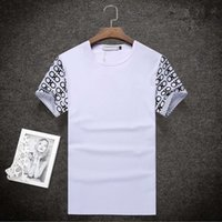 Wholesale TOP Quality Brand Casual T Shirt Cotton Tops Tees Summer Men T shirt Sport T Shirt Men Fitness Clothing
