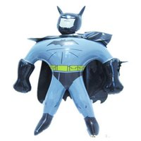 Wholesale new design Inflatable Toys Cartoon Bat Man Inflatable Stick Children Toys retail and