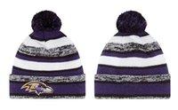 baltimor quality - Top Quality Football Beanies Men Women Skull Cap Skullies Knit Wool Hat Cotton Hats BALTIMOR Beanie