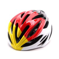 bicycle helmet unique - Accesorios Bicicleta CAIRBULL National Flag Edition In Mold Adults Bike Bicycle Helmet Unique Color Design Cycling Helmet L CA016