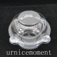 Wholesale Clear Plastic Cupcake Cake Wedding Shower Cake Muffin Dome Boxes Holders