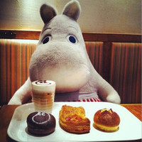 Wholesale Stuffed toys of good quality Hippo Moomin dolls cute pillow doll plush toys OEM gift ideas