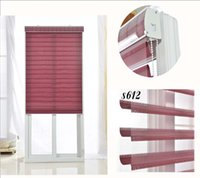 bedrooms colors - Polyester Translucent Customerized Size Zebra Blinds In Colors Window Shade Curtains For Living Room