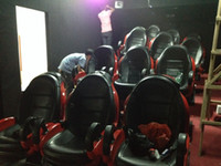 Wholesale amusement park simulator mobile d cinema simulator equipment d vr seat simulator D d cinema d egg cinema equipment for sale
