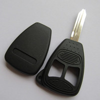 big button remote - Car buttons remote key blank case FOB shell for chrylser key cover with big button