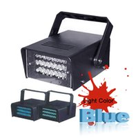 Wholesale v Operated DJ Disco Party Stage Lighting Effects Light LED Mini Strobe Light
