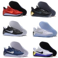 ad orange - Kobe XII AD Elit high quality original retro men basketball shoes sneakers XII shoes online US size