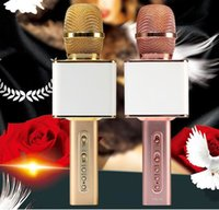 Wholesale New Fashion YS10 USB Microphone KTV Karaoke Handheld Mic Speaker Wireless Microphone YS10 for IOS Android Smartphone and TV
