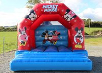 Wholesale New Inflatable Bounce Castle for kids fun five colors