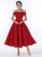 Wholesale Chinese wedding dress long red special occasion dresses red strapless dress prom lace red prom dress backless