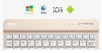 Wholesale Wireless phone Bluetooth keyboard Android Apple iPad tablet pc mini keyboard universal thin