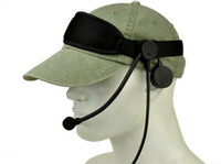 al por mayor sujetador del ejército-Z Tactical auriculares auricular TEA Co sujetador auricular para el ejército de caza de caza de airsoft BK / DE