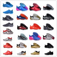 ace leather goods - 2016 Original Ace GOOD Purecontrol FG Soccer Boots Pure Control Football Shoes Soccer Cleats Boots Authentic Ankle Size Eur