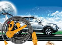 Wholesale Automobile Shower Set outdoor garden and beach car easy use shower best shower on car electricity power