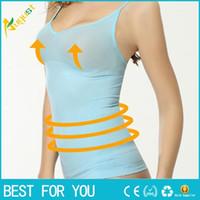 Cheap Sling body waist trainer abdomen corset vest memory fat burning warm house