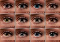 Wholesale Hot selling Fancy Tone big size contact lenses tone color blends Soft colored contact lenses Ready Stock