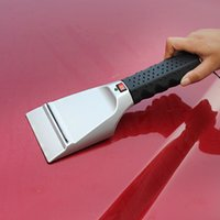 automobile cigarette lighter - 1pcs Automobiles Car Care Cleaning Ice Scraper cm V Can Be Heated Dual use Snow Shovel Car Cigarette Lighter Snow Shovel