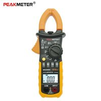 Wholesale PEAKMETER MS2008A Clamp Meter Digital Clamp Meter Auto Manual Range AC DC Voltmeter Ohmmeter with Backlight display
