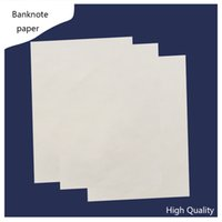 Wholesale currency printinng paper linen feel starch free acid free waterproof types a4 size white color sheets banknote paper