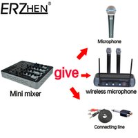Wholesale Audio Mixer Console with USB Channel Mixer Sound Console DJ Equipment V Phantom Power Supply F with Bluetooth