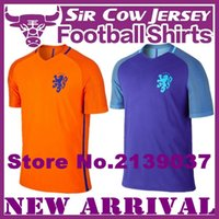 arjen robben - 2016 Netherlands Soccer Jersey Arjen Robben maillot de foot Holanda Orange camisas Memphis Depay Sneijder V Persie Football Shirts Quality