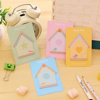 Wholesale 20 Sets Self Adhesive Memo Pad Sticky Notes Post It Bookmark School Student Gifts Office Home Supply Message Posted