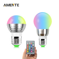 atmosphere controller - X V W W E27 Dimmable RGB LED Bulb Atmosphere Creation Light Lamp Remote Controller For Party Bar Holiday Christmas