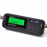 Sathero SH-100HD buscador de señal digital medidor de satélites DVBS / S2 con USB 2.0 1pc