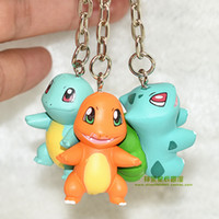 Wholesale 3pcs bag Pocket Monster Poke Go Pikachu Charmander Souirele Bulbasaur Animal Toys Doll cm