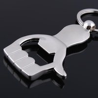 beer novelty items - New Caming fashion hand thumb beer bottle opener keychain multifunction novelty items bottle opener key ring key chain drop shipping