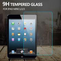 Wholesale New Premium Tempered Glass Screen Protector for Apple iPad Mini W0F50 W0