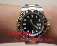El nuevo reloj de alta calidad de lujo Asia 2813 Movimiento mecánico 40MM negro bisel de cerámica GMT 116713 16713 Automatic Mens Watches