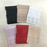 Wholesale Women Bra Strap Extender Rows Hooks Clasp Strap Female Soft Flexible Bra Strap Extension Intimates Underwear Accessories ZA1730