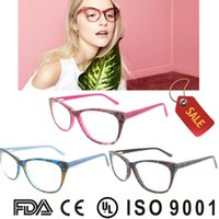 Wholesale china optical eyeglasses frame Handmade Frames Men Women Fashion Eyewear Glass Famous Designer Spectacles Frame