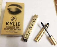 Wholesale lowest price Kylie Mascara Charming eyes Magic Lengthening Thick Slim Waterproof makeup Mascara Black color