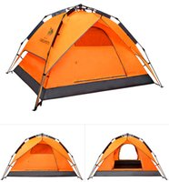 Wholesale 2016 hot sale double layer one bedroom season tents people doors barraca camping family outdoor tent