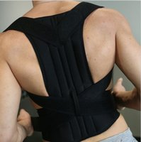 Wholesale Adjustable Back Support Posture Corrector Back Brace Shoulder Band Belt Unisex