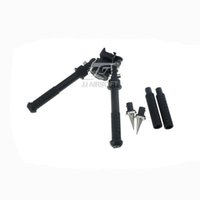 Wholesale JJ Airsoft BT10 Atlas Rifle Bipod with AD170S Mount and inch Leg Extensions and Spikes AD S