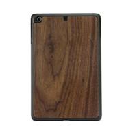 best price ipad mini cases - Genuine Wood protector for ipad Mini and ipad Mini with best price PC wooden cover