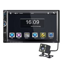 achat en gros de gps bluetooth tuner-7 '' Double Two Din Car DVD Navigation GPS Radio Stereo Audio Caméra de recul Bluetooth MP5 Player For Universal