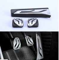 Wholesale Stainless Steel Car Pedal Pads Cover Throttle Clutch and Brake For BMW Series MT