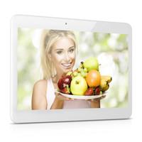 al por mayor android tablet with sim card slot-10 pulgadas MTK6582 3G Tablet PC Cuádruple Android tabletas 2 GB de memoria RAM de 16 GB de doble cámara 2 SIM tarjeta de ranura GPS Bluetooth Phablet