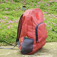 aqua backpacks - Trendy Pattern Foldable Travel Essential Backpack BURGUNDY BLUE RED LIGHT BLUE AQUA NAVY