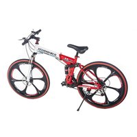 Wholesale USA Sstock inch Mountain bike of Six spokes speed Cycling Folding bicycles
