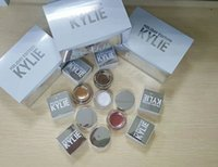 Wholesale hot kylie holiday edition kyshadow Creme Shadow Presell Metal Gold Kylie Jenner Cosmetics Birthday Edition Creme Shadow Copper Rose Gold
